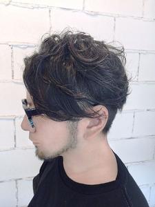 ツーブロックナチュラルウェーブ|ARISEのヘアスタイル