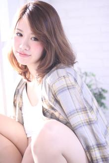 エアリーロブ|Hair Frais Make Yokohamaのヘアスタイル