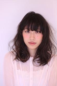 柔らかさ、透明感のふわミディ|Hair Frais Make Yokohamaのヘアスタイル