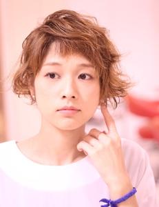 くしゃっとショート|Hair Frais Make Yokohamaのヘアスタイル