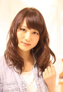 シフォンミディアム Hair Frais Make Yokohamaのヘアスタイル