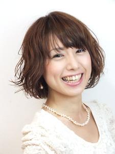 ふわふわショートボブ|Hair Frais Make Yokohamaのヘアスタイル
