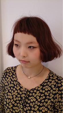 個性派ボブ|Hair Frais Make Yokohamaのヘアスタイル