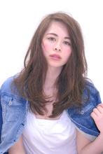 かきあげ前髪☆シア—パールアッシュ|Hair Frais Make orkのヘアスタイル