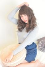 斜めが可愛☆ショートバングウェーブセミディ☆|Hair Frais Make orkのヘアスタイル