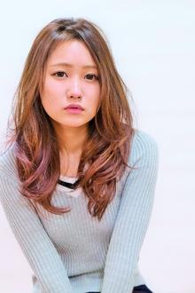 さりげないオシャレ☆ナチュラルグラ Hair Frais Make orkのヘアスタイル