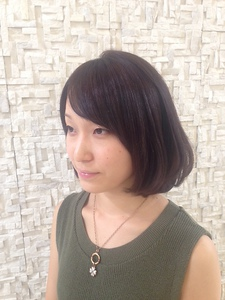 ナチュラルBOB☆|Hair Frais Make Toutのヘアスタイル