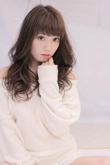 ルーズなカールが可愛いパーマスタイル|Hair Frais Make Machidaのヘアスタイル