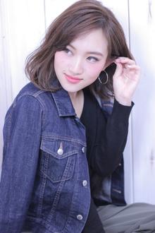 ブルージュカラーのイノセントボブディ♪|Hair Frais Make Machidaのヘアスタイル