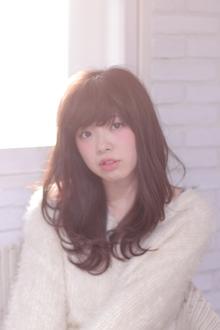 ベビーバング☆くびれミディ|Hair Frais Make Machidaのヘアスタイル