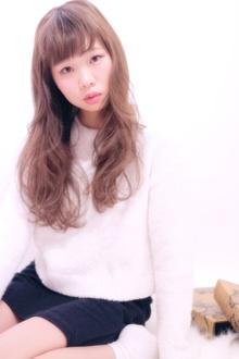 ふんわりパーマのアッシュグレージュ☆ Hair Frais Make Machidaのヘアスタイル