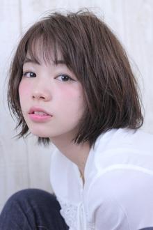 ランダムな動きが可愛いウェットボブ☆|Hair Frais Make Machidaのヘアスタイル