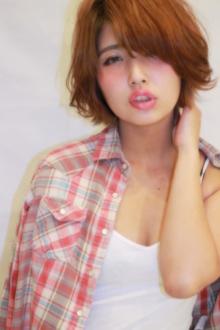 外ハネスタイルのヘルシーショート|Hair Frais Make Machidaのヘアスタイル