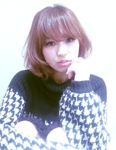 マニッシュショートボブ♪|Hair Frais Make Machidaのヘアスタイル