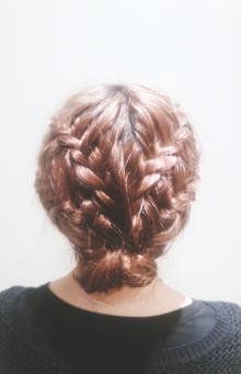 ダブルウォーターフォールブレイド|Hair Frais Make Machidaのヘアスタイル