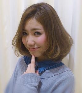 ミルキーボブ|Hair Frais Make Machidaのヘアスタイル