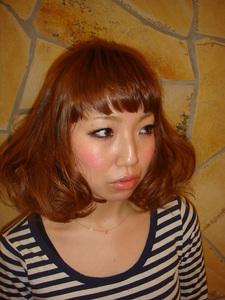 ミディアムポップ|Hair Frais Make Machidaのヘアスタイル