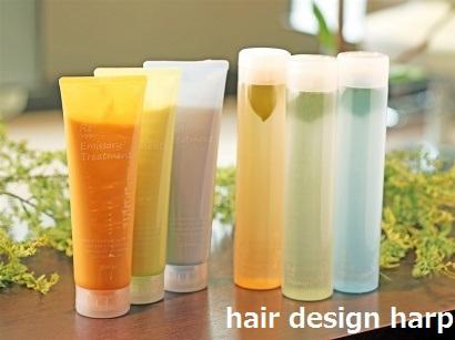 Hair design harp
