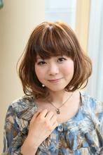 スイートガーリーボブ arms hair 鈴木 恵のヘアスタイル