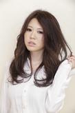 透け感ロング|arms hairのヘアスタイル