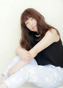 透け感☆シルキーバイオレットカラー|arms hairのヘアスタイル