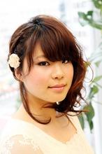 さっくりアレンジ|arms hair 椎名 恵のヘアスタイル