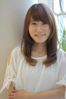 ナチュラルワンカール☆|arms hairのヘアスタイル