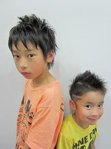 Kid'sおしゃショート|Rize Hairのヘアスタイル