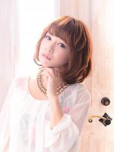 【CES LIONS】 ナチュ可愛ボブ×うるツヤ|セリオン 祐天寺店のヘアスタイル