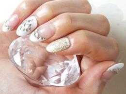 大人フレンチ|nail salon Jewelのネイル