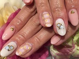 フラワーネイル|nail salon Jewelのネイル