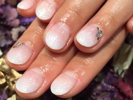 白グラデ|nail salon Jewelのネイル