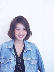☆COCO☆ノームコアボブ|美容室COCO design 清澄白河店のヘアスタイル