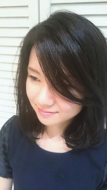 肩ハネボブディ|美容室COCO design 清澄白河店のヘアスタイル