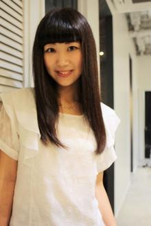 前髪インナーカラーで普通に遊びを♪|美容室COCO design 清澄白河店のヘアスタイル