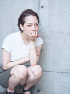 ☆COCO☆耳かけショート|美容室COCO design 清澄白河店のヘアスタイル