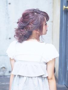 ☆COCO☆簡単アレンジ3|美容室COCO design 清澄白河店のヘアスタイル