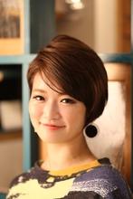 ☆大人かわいい王道ショート♪|Hair Design entier のヘアスタイル