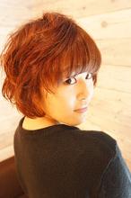 ふんわりショートボブ|Hair Design entier のヘアスタイル
