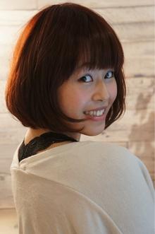 ふんわりボブ|Hair Design entier のヘアスタイル