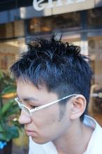 爽やかベリーショート|Hair Design entier のメンズヘアスタイル