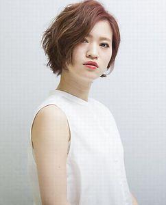 ブルーミングショート|MiCOL 錦糸町のヘアスタイル