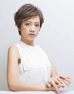 グランジショート|MiCOL 錦糸町のヘアスタイル