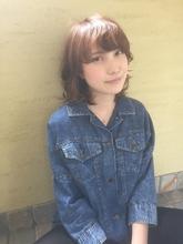 朝が楽! ゆるやかミディ☆|hair design cheerfulのヘアスタイル