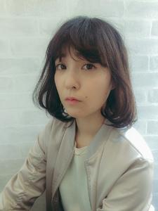 ☆黒髪×シンプルボブ☆|hair design cheerfulのヘアスタイル