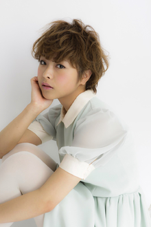 ☆くせ毛風カーリーマッシュルーム☆|hair design cheerfulのヘアスタイル