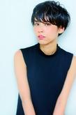 ☆黒髪でオシャレショート☆|hair design cheerfulのヘアスタイル