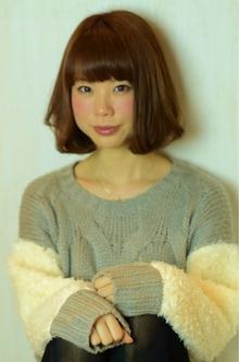 ほのかに柔らかさのあるボブ☆|hair design cheerfulのヘアスタイル
