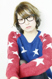 ふわクシュ質感のアンニュイレイヤーボブ|hair design cheerfulのヘアスタイル