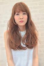 ヌーディーアッシュ×ロング|hair design cheerful 原田 優太のヘアスタイル